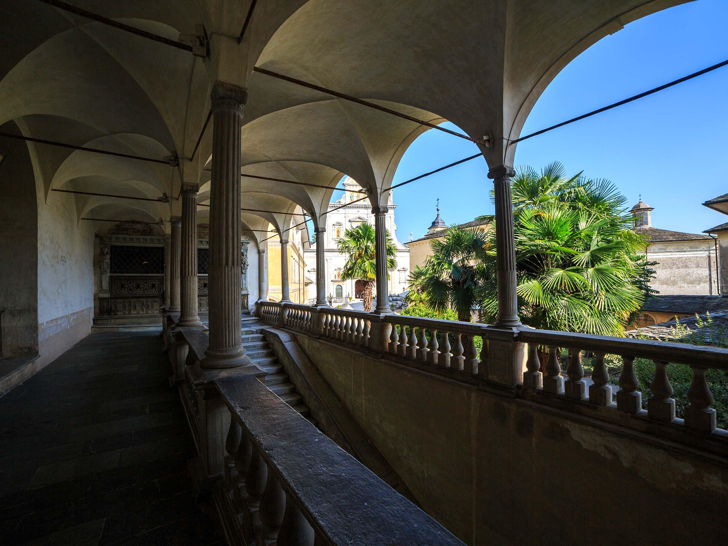 Sacro Monte di Varallo palazzo di pilato