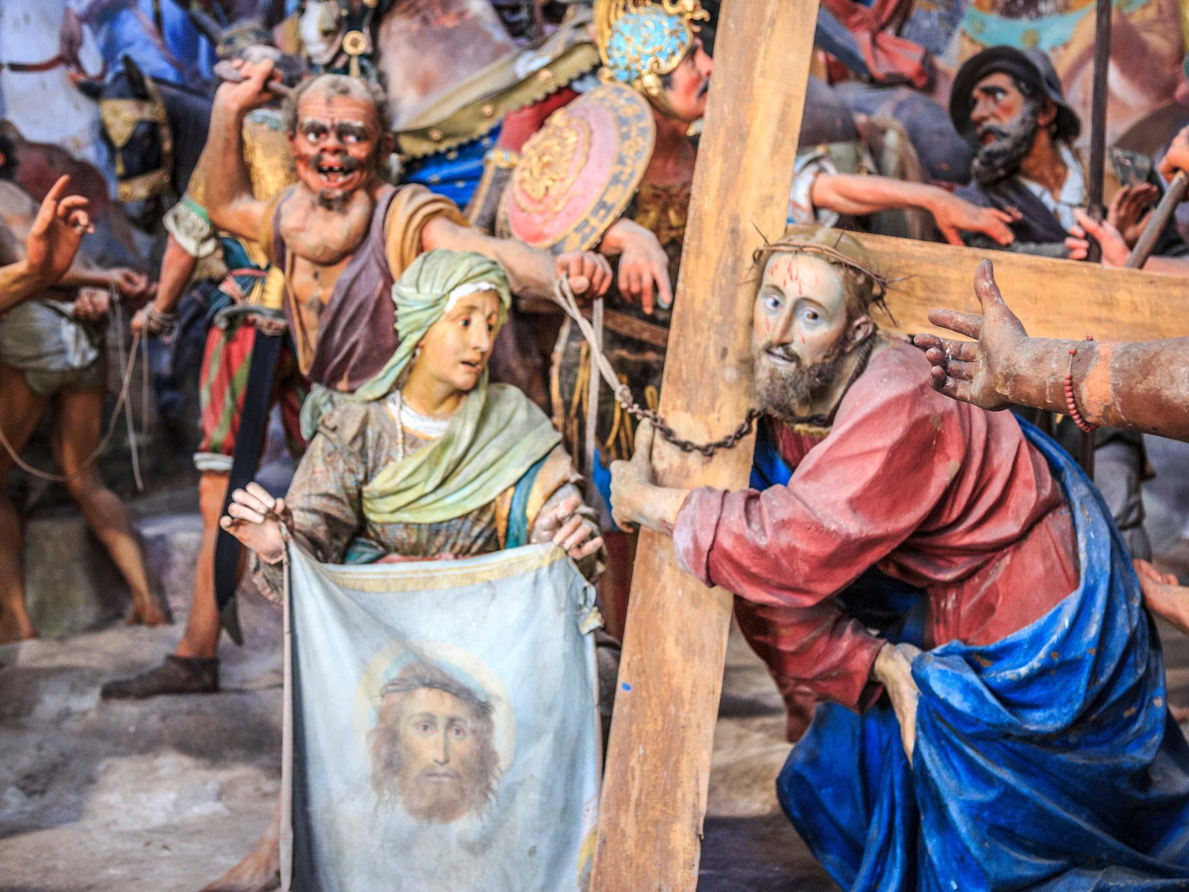 Sacro Monte di Varallo cappella salita al calvario