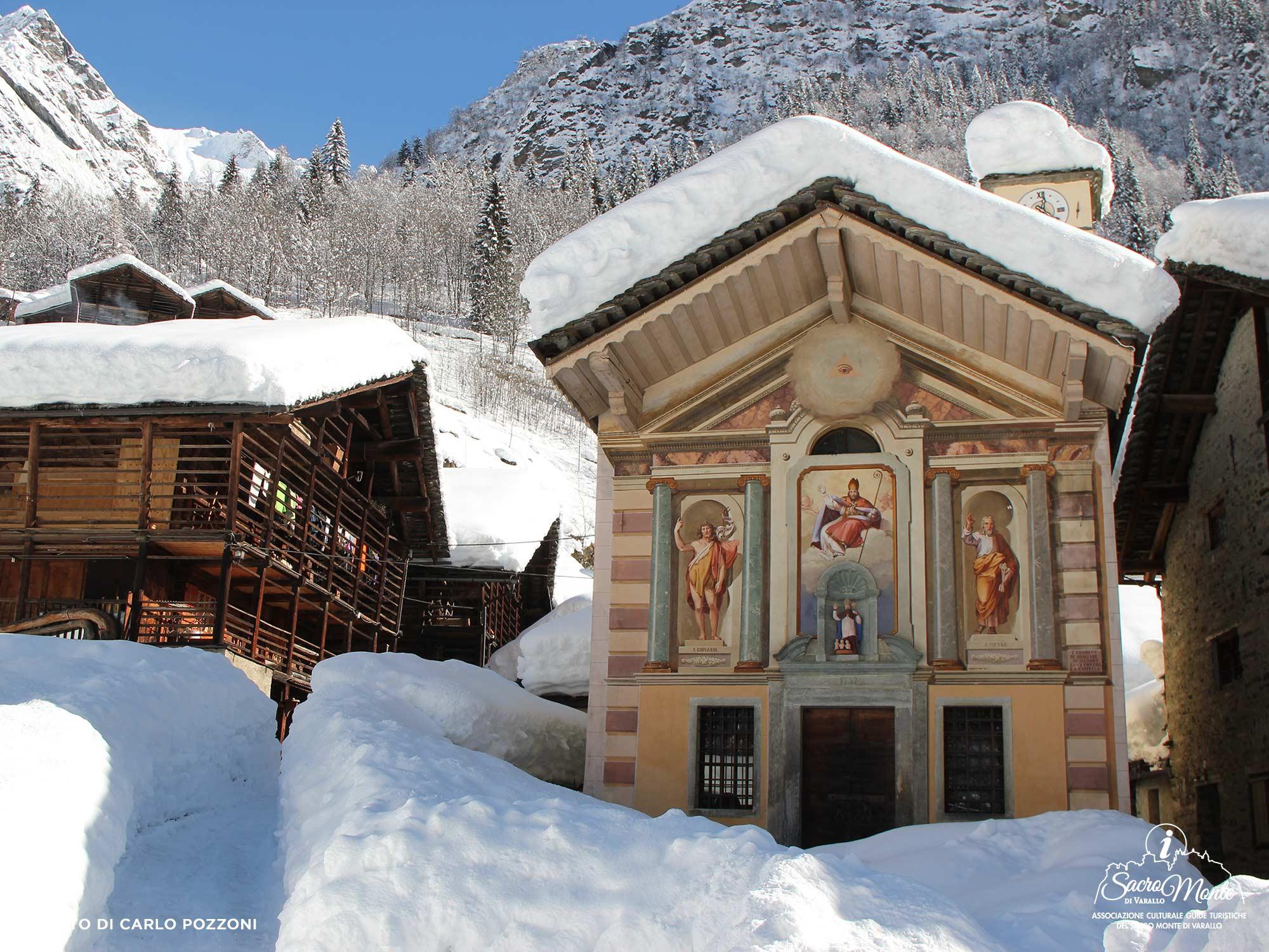 Sacro Monte di Varallo tour Alagna