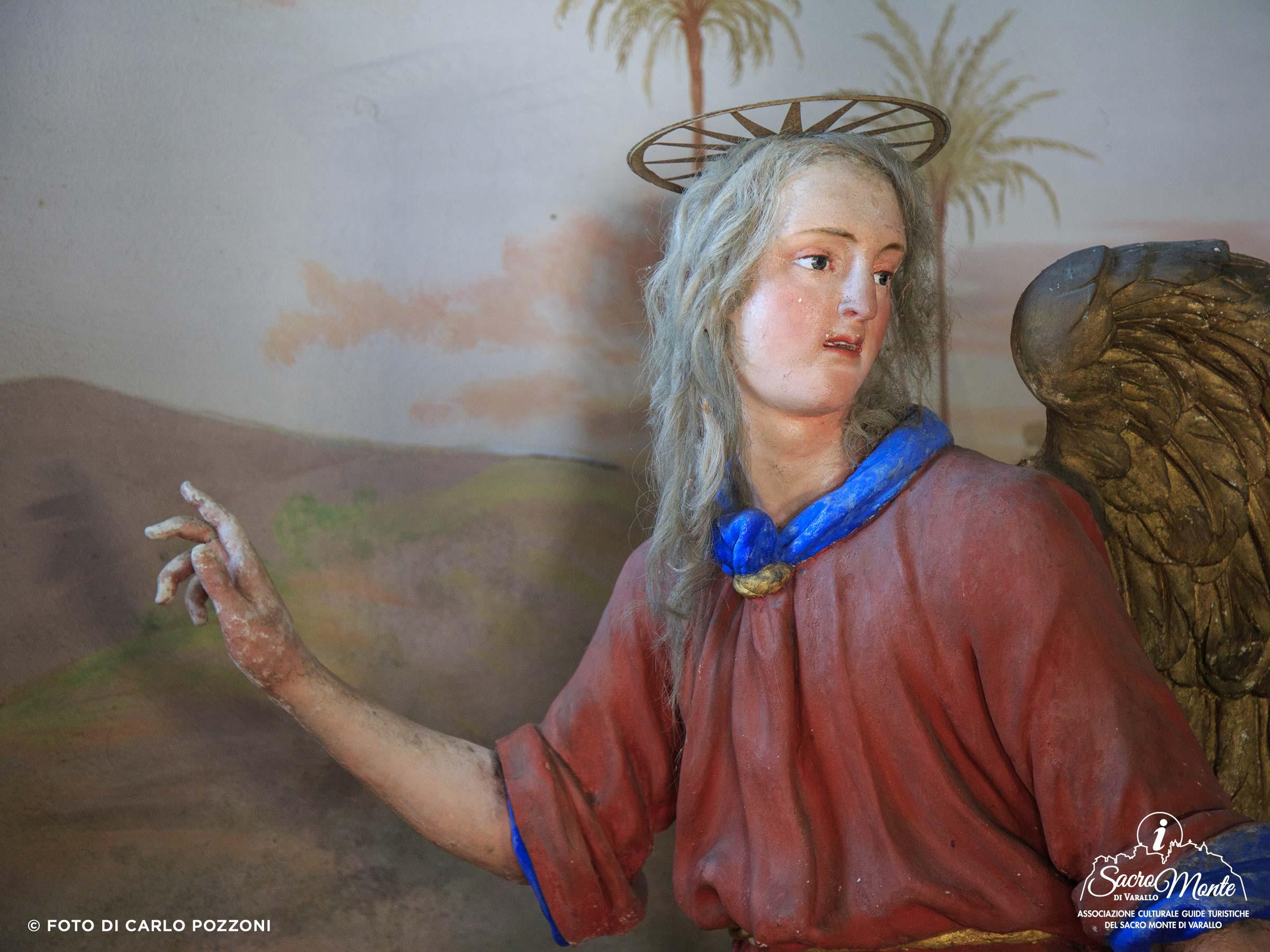 Sacro Monte di Varallo cappella fuga in egitto