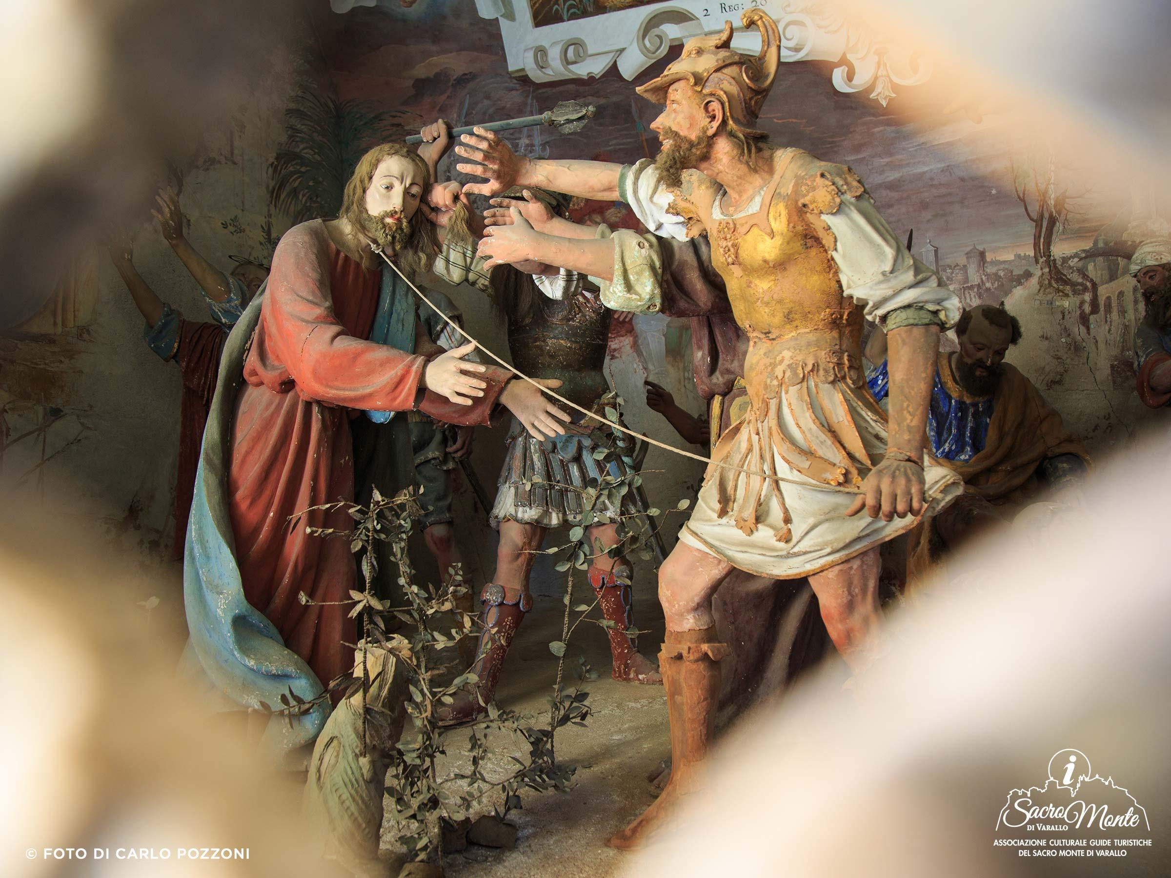 Sacro Monte di Varallo cappella la cattura di gesu