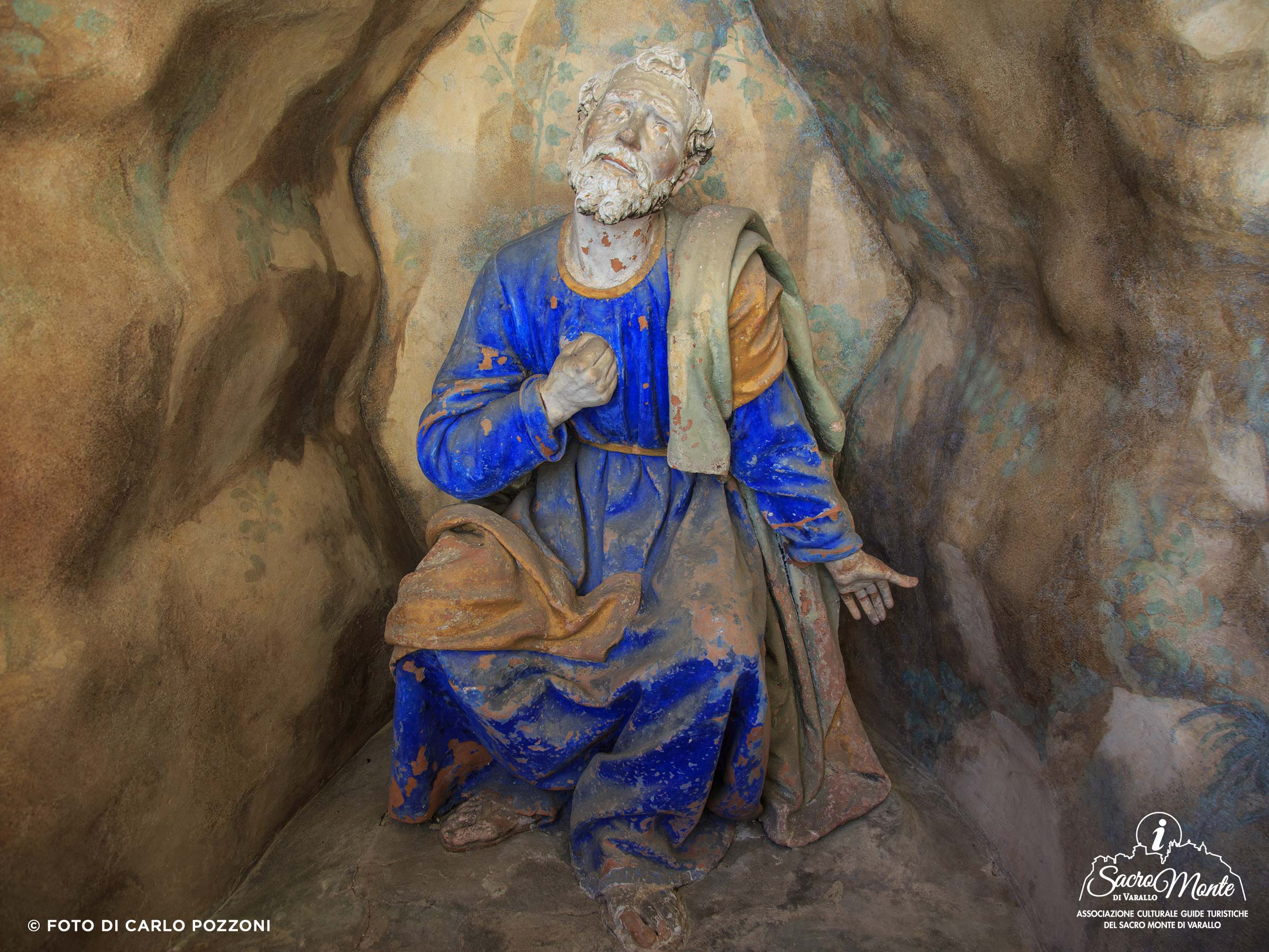Sacro Monte di Varallo cappella il pentimento di pietro