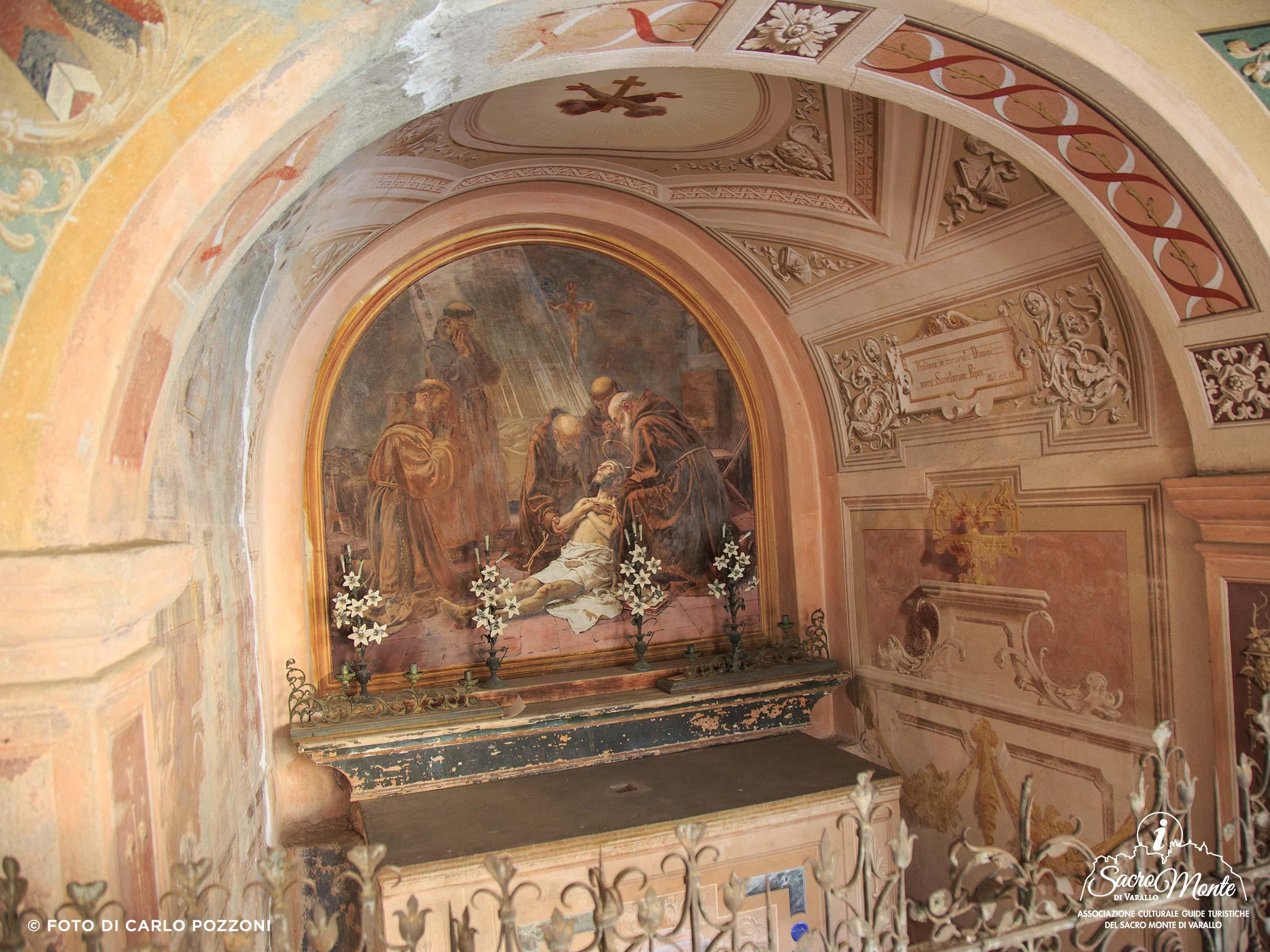 Sacro Monte di Varallo cappella san francesco