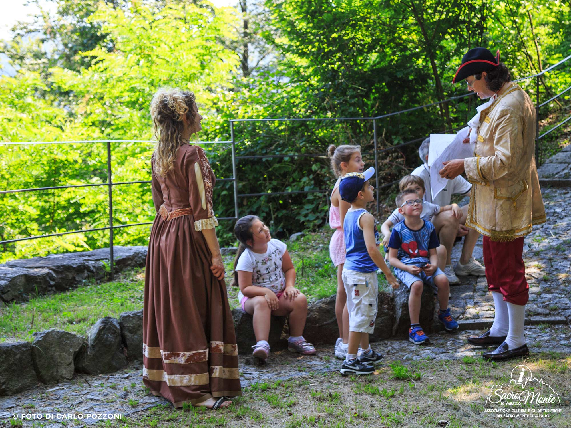 Sacro Monte di Varallo, visite guidate per bambini