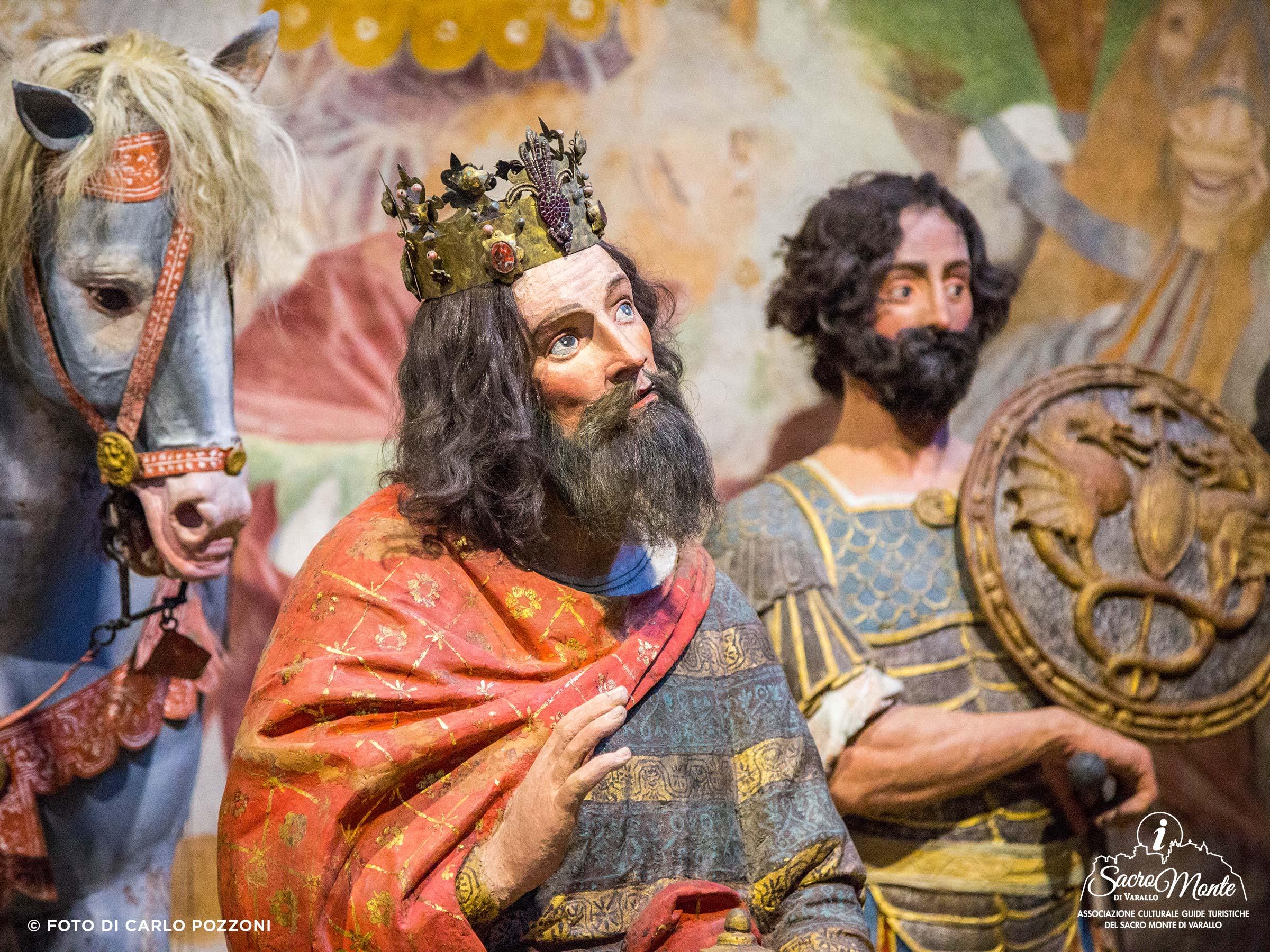 Sacro Monte di Varallo cappella arrivo dei magi