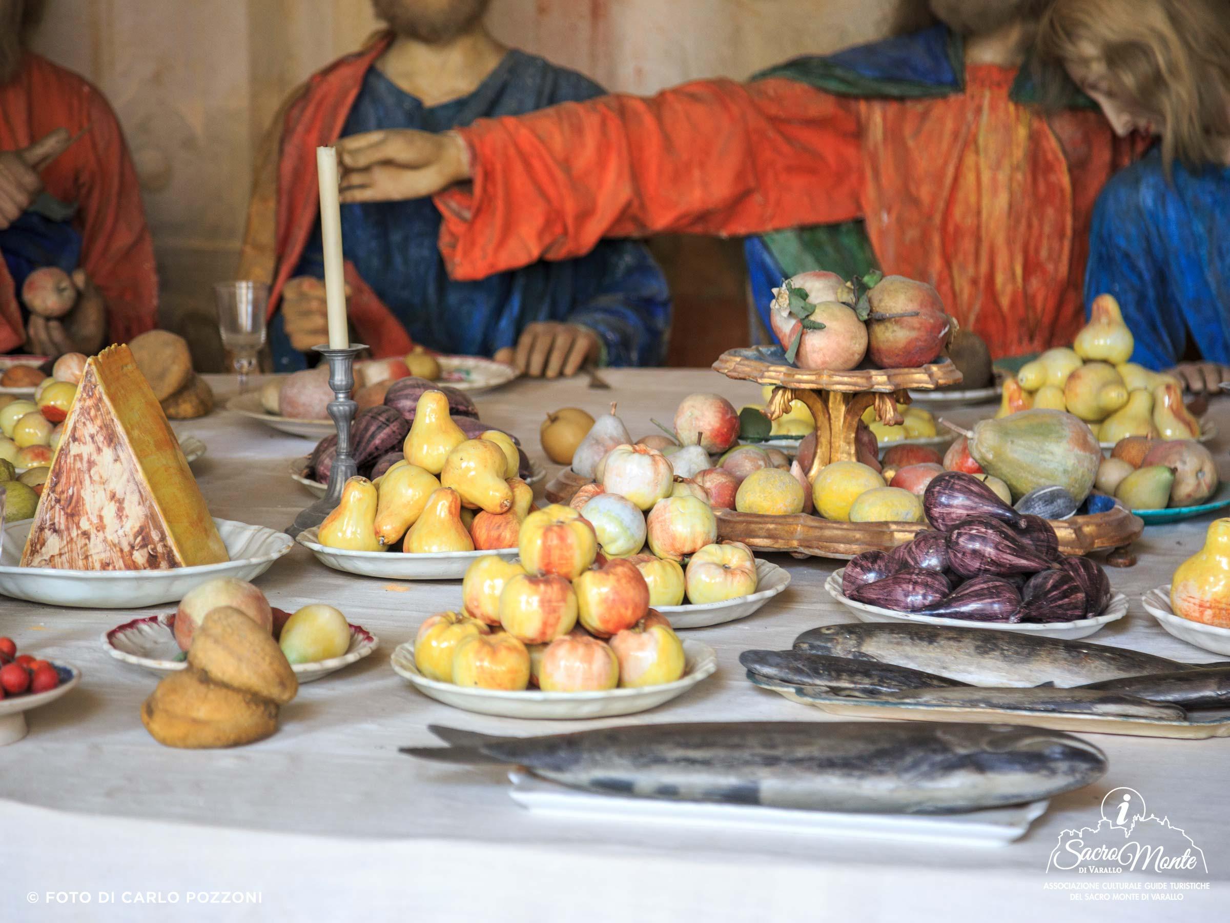 Sacro Monte di Varallo cappella ultima cena