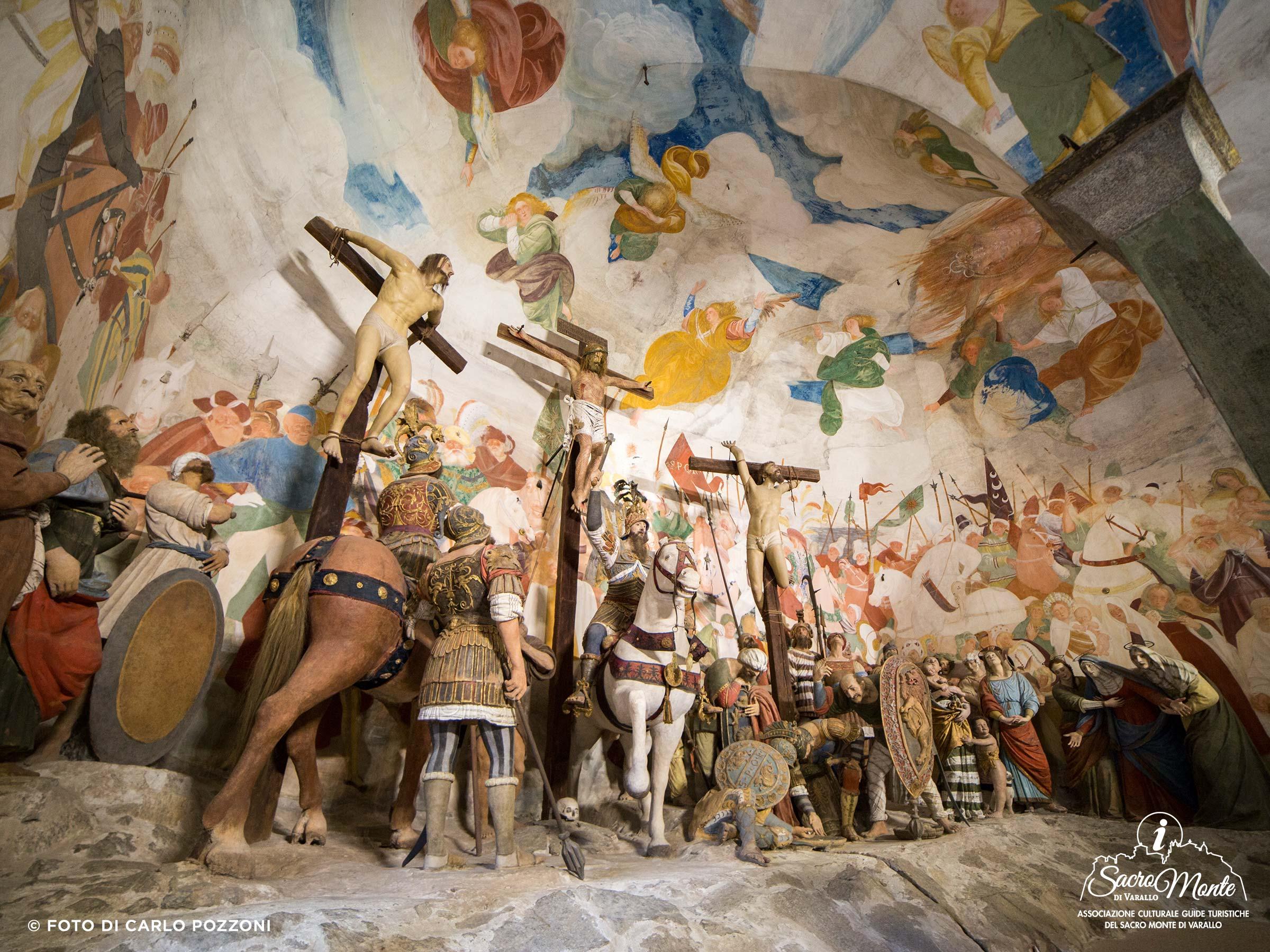 Sacro Monte di Varallo cappella crocifissione