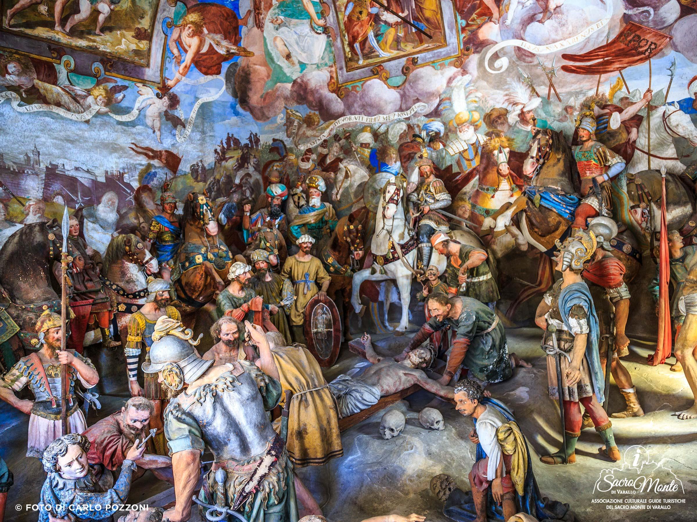 Sacro Monte di Varallo cappella inchiodazione