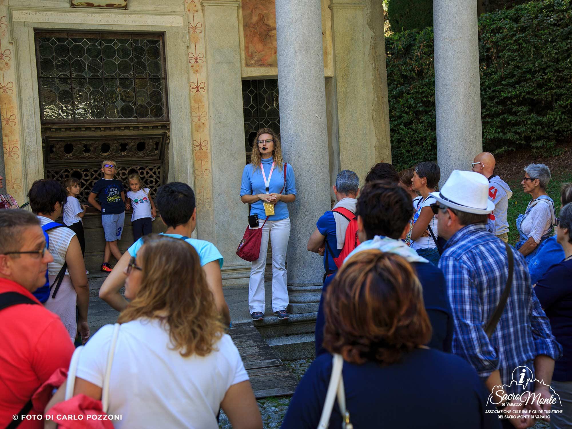 Sacro Monte di Varallo, visite guidate
