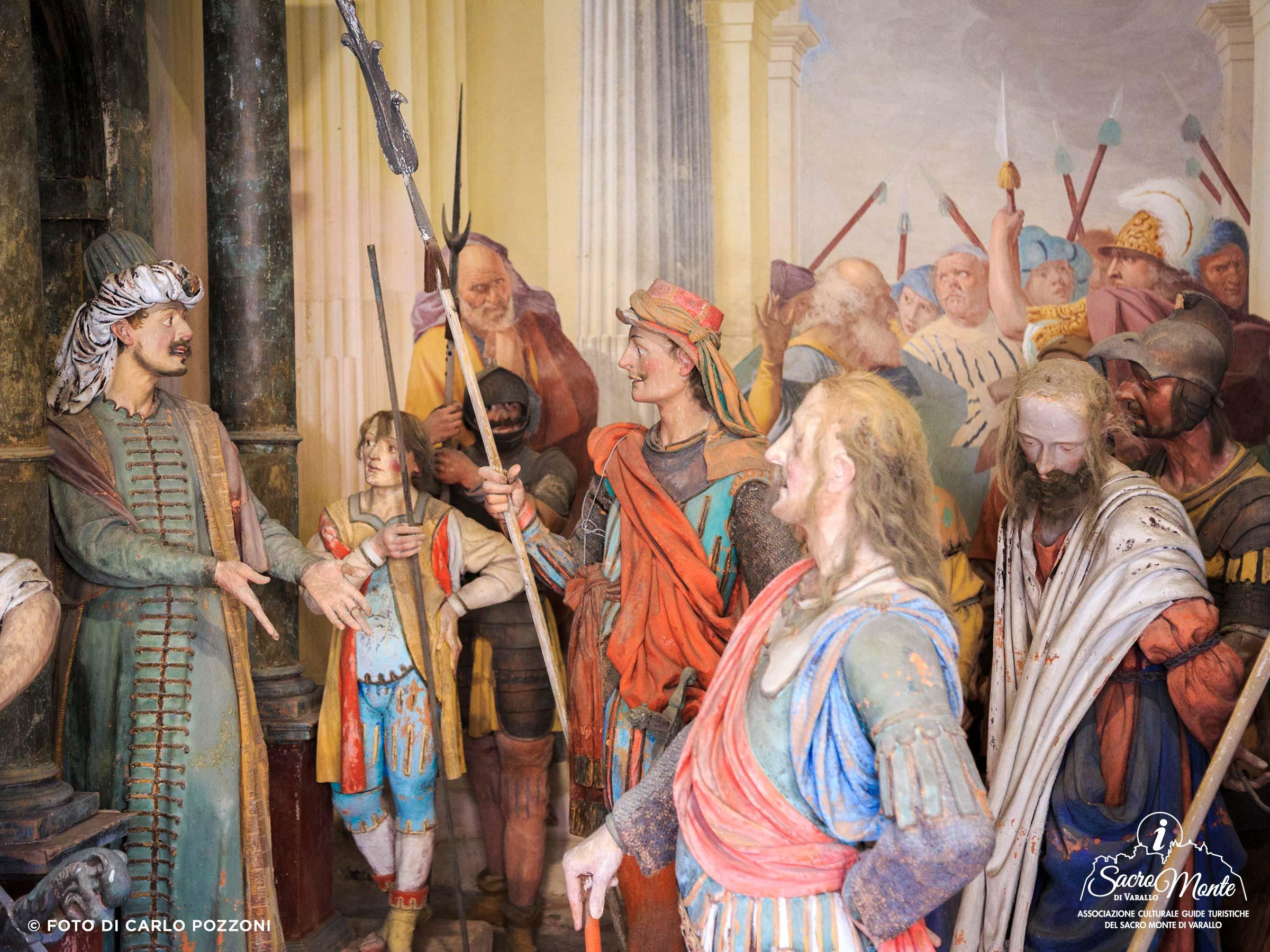 Sacro Monte di Varallo cappella seconda volta da pilato