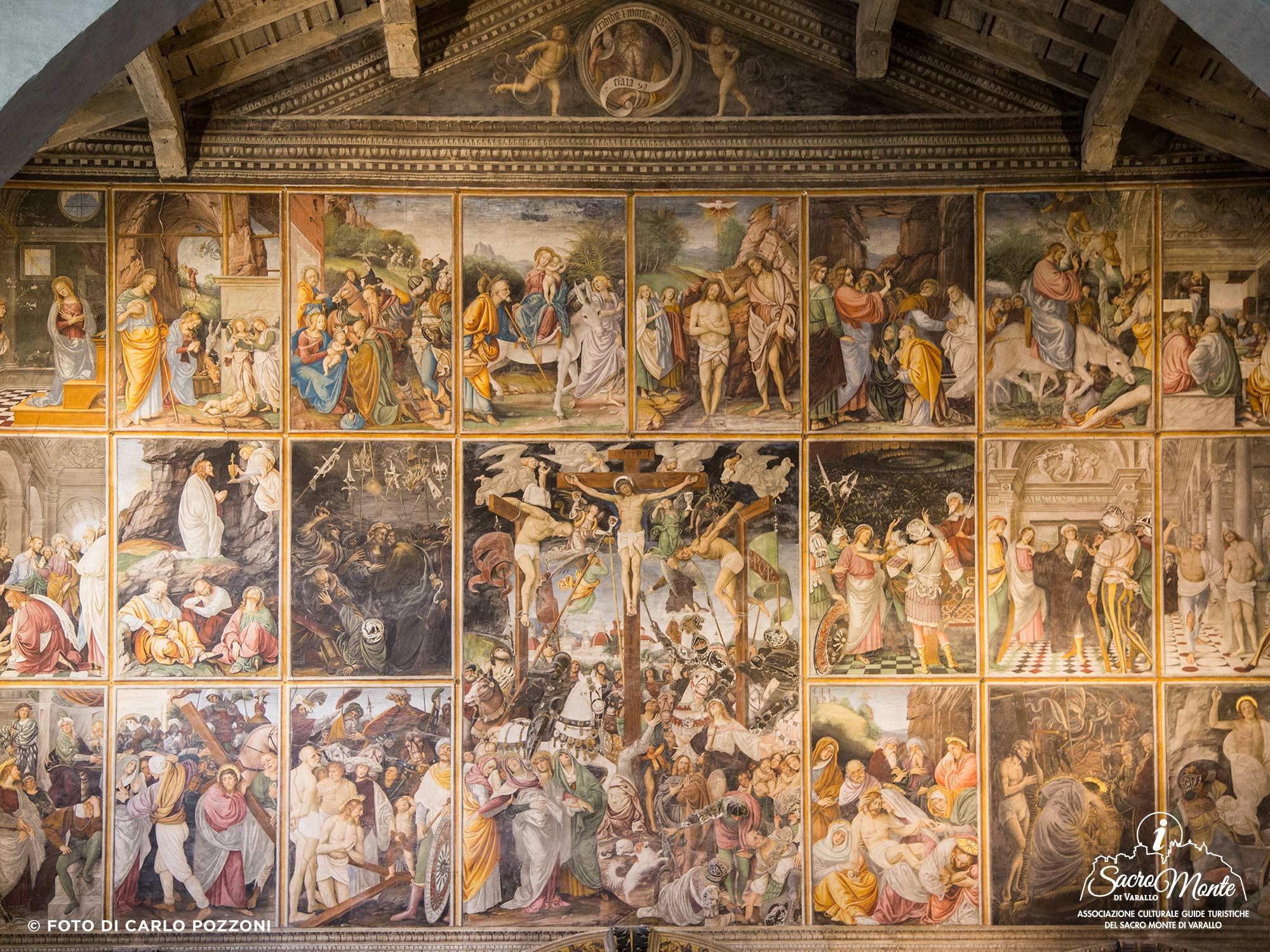 Sacro Monte di Varallo chiesa santa maria delle grazie