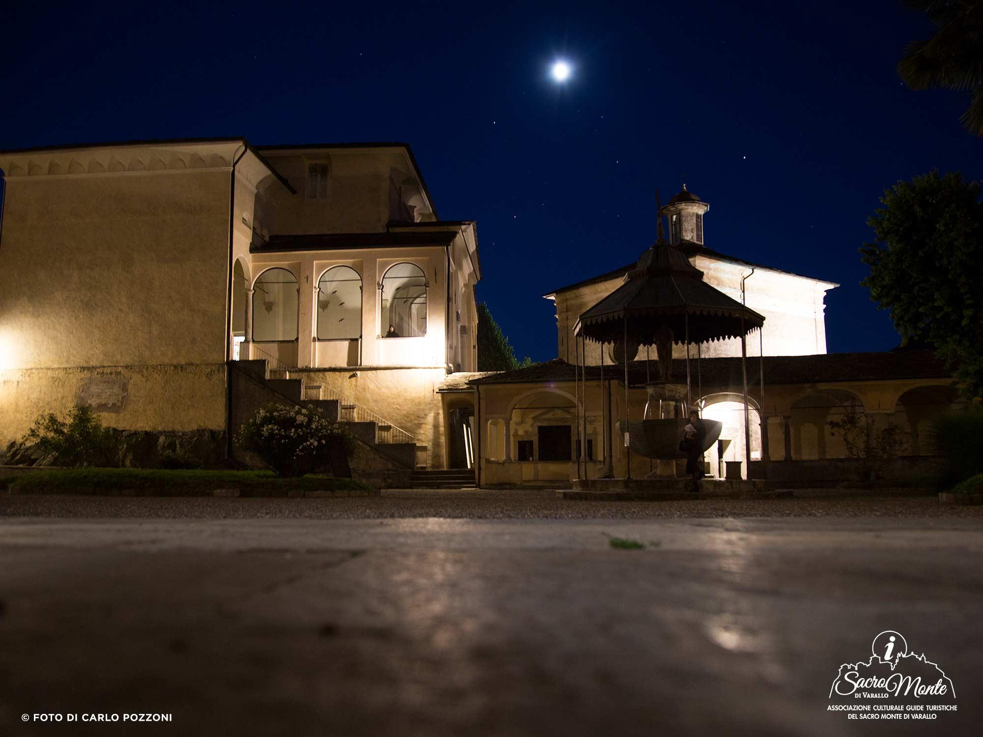 Sacro Monte di Varallo, visite guidate notturne