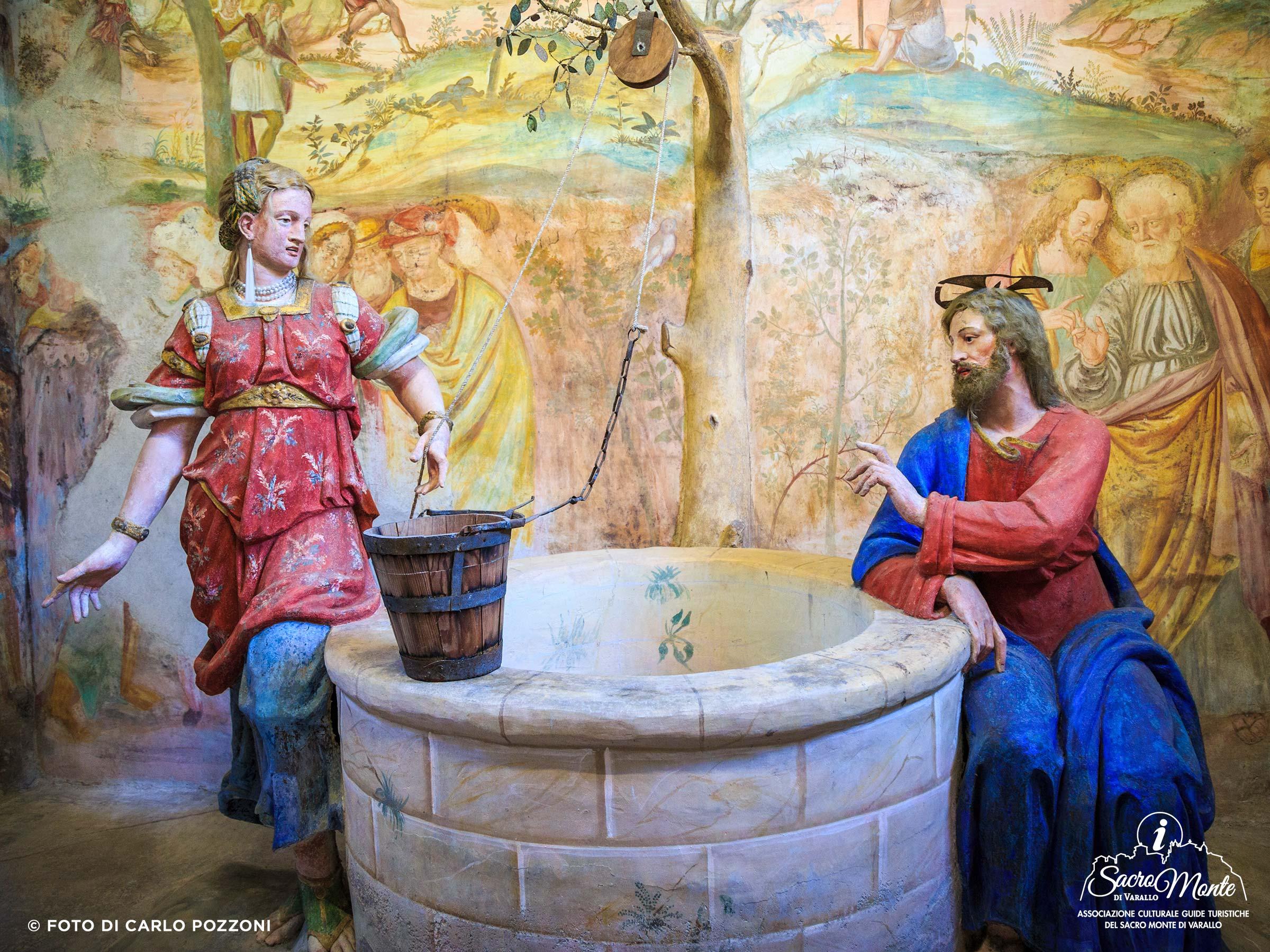 Sacro Monte di Varallo cappella samaritana al pozzo