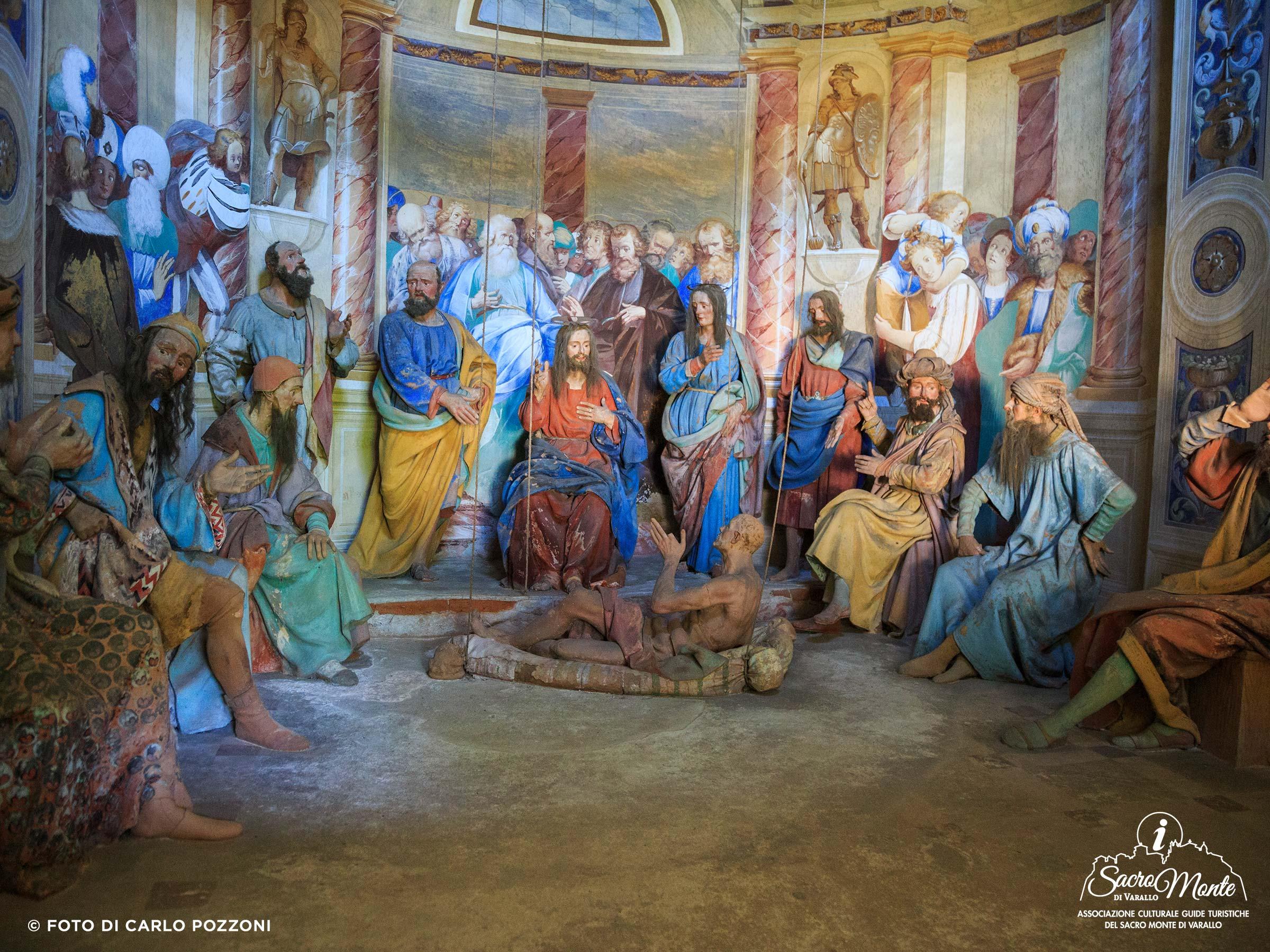 Sacro Monte di Varallo cappella paralitico risanato