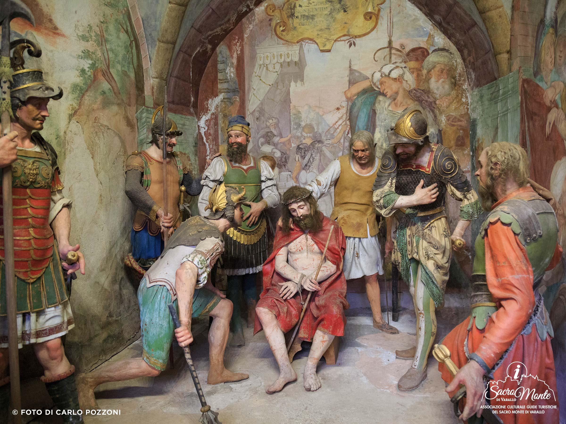 Sacro Monte di Varallo cappella incoronazione di spine