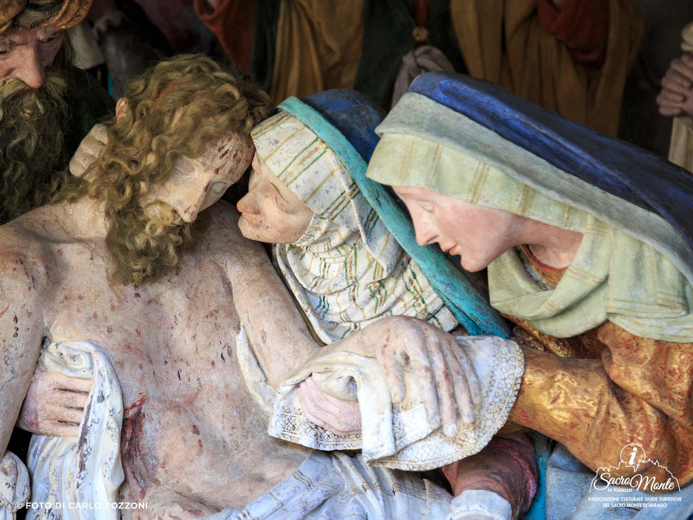 Sacro Monte di Varallo cappella pietà