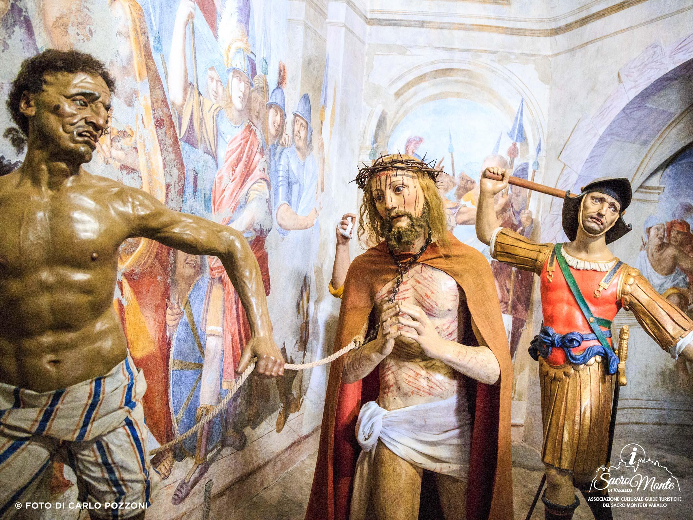 Sacro Monte di Varallo cappella salita al pretorio