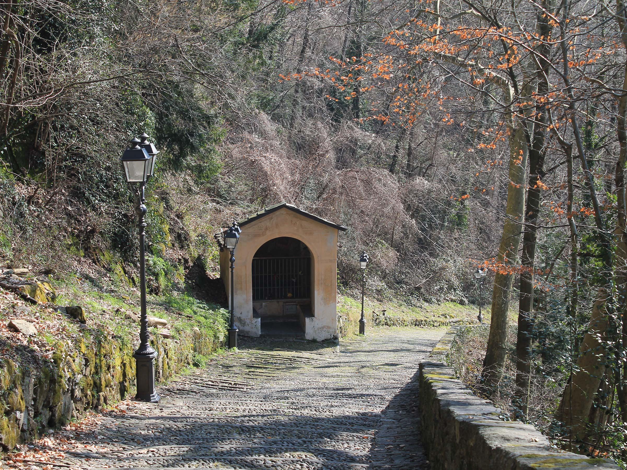 Sacro Monte di Varallo salita pedonale