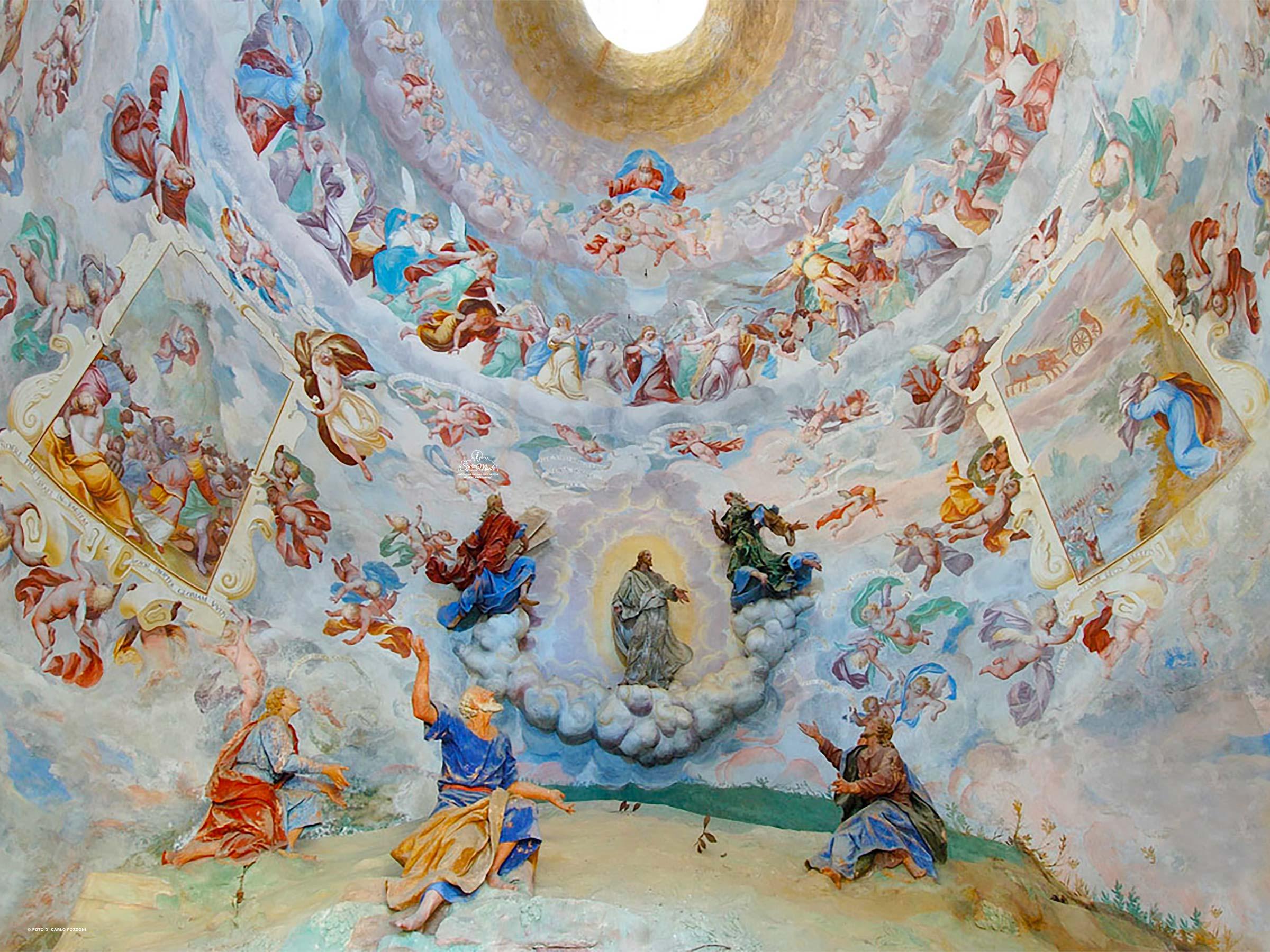 Sacro Monte di Varallo cappella trasfigurazione
