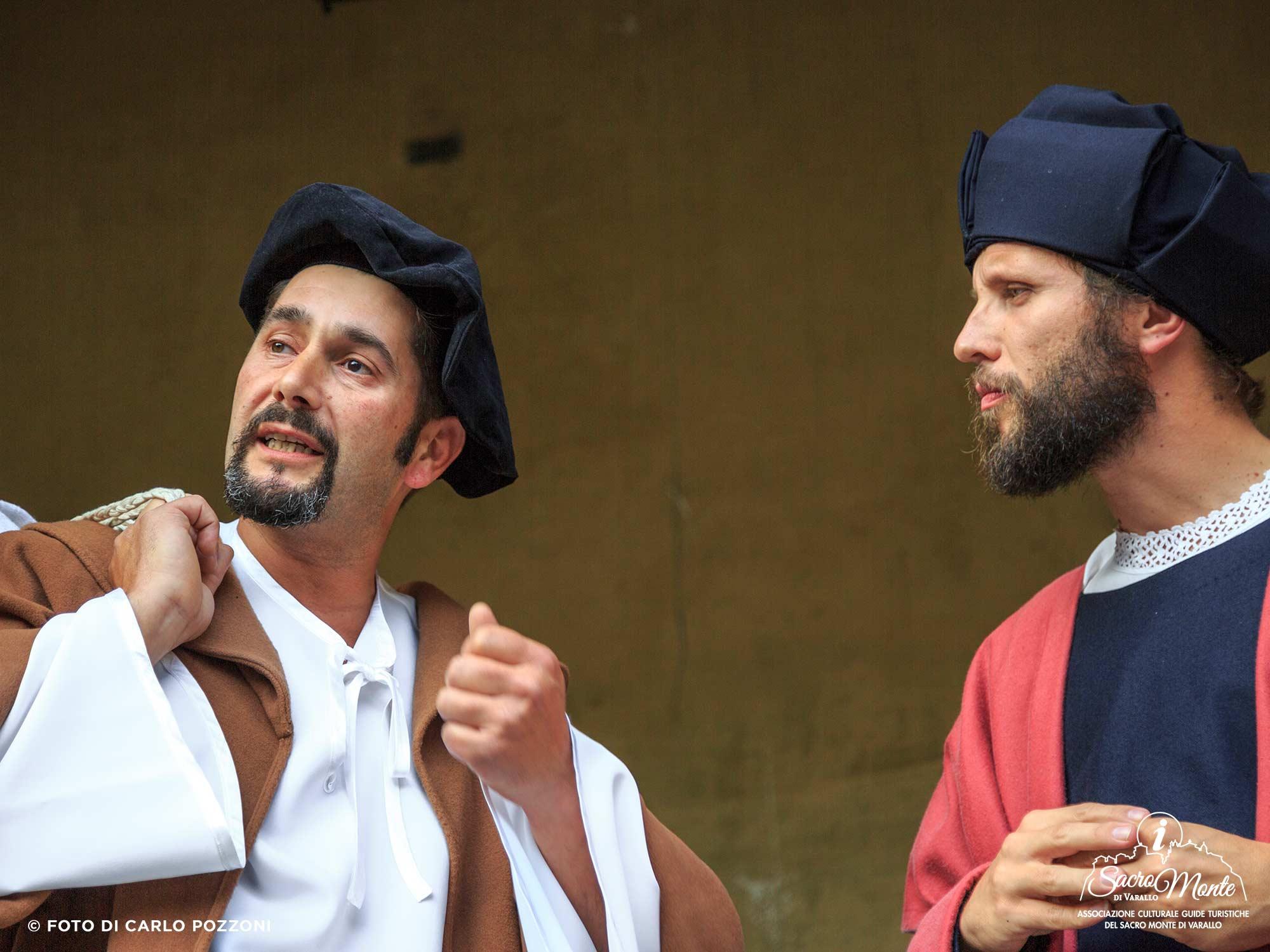 Sacro Monte di Varallo, visite guidate teatrali