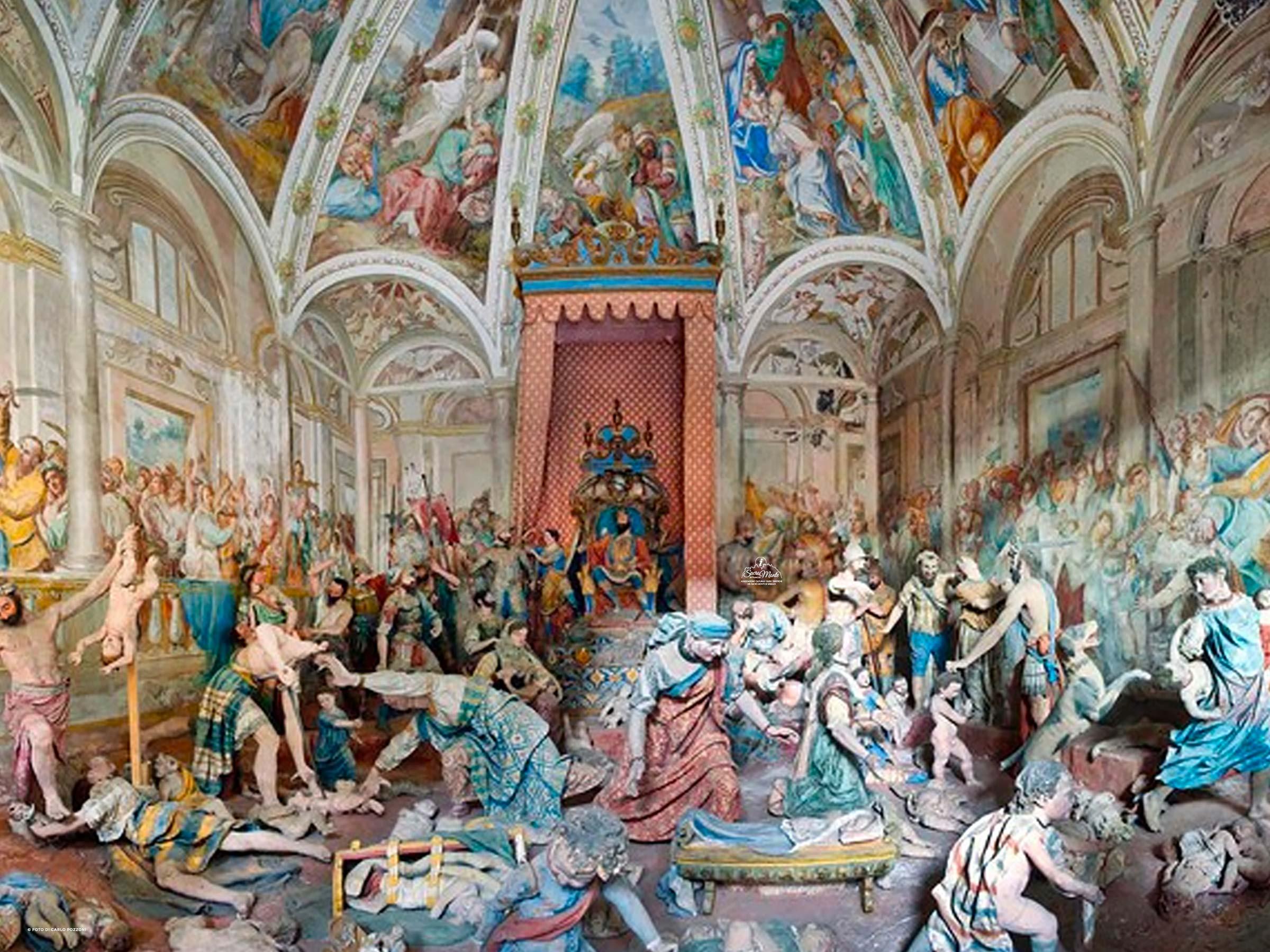 Sacro Monte di Varallo cappella strage degli innocenti