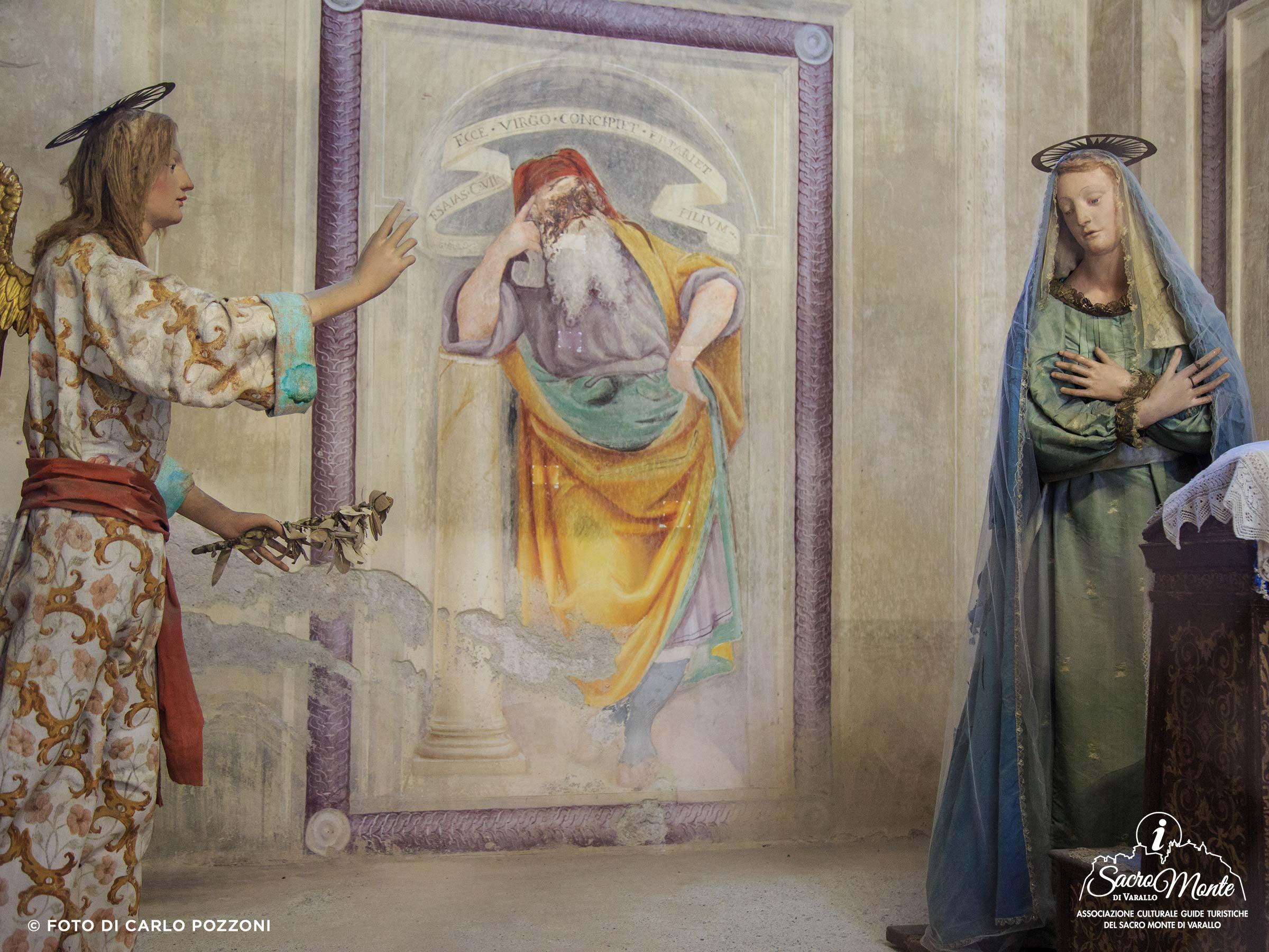 Sacro Monte di Varallo cappella annunciazione
