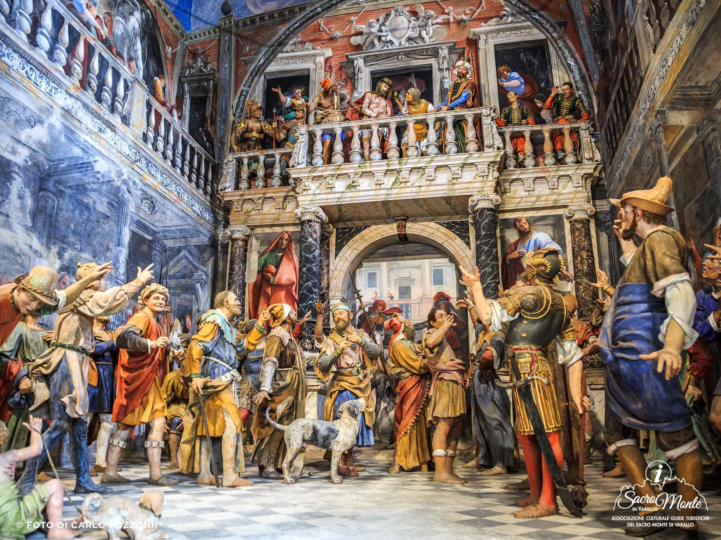 Sacro Monte di Varallo cappella ecce homo