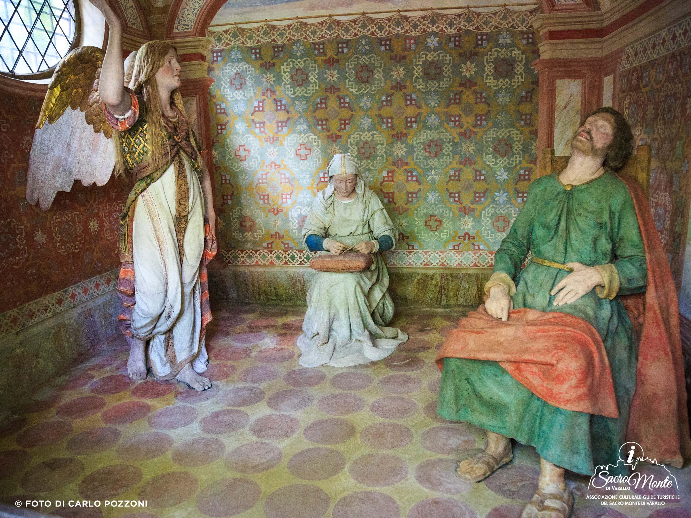 Sacro Monte di Varallo cappella primo sogno di giuseppe
