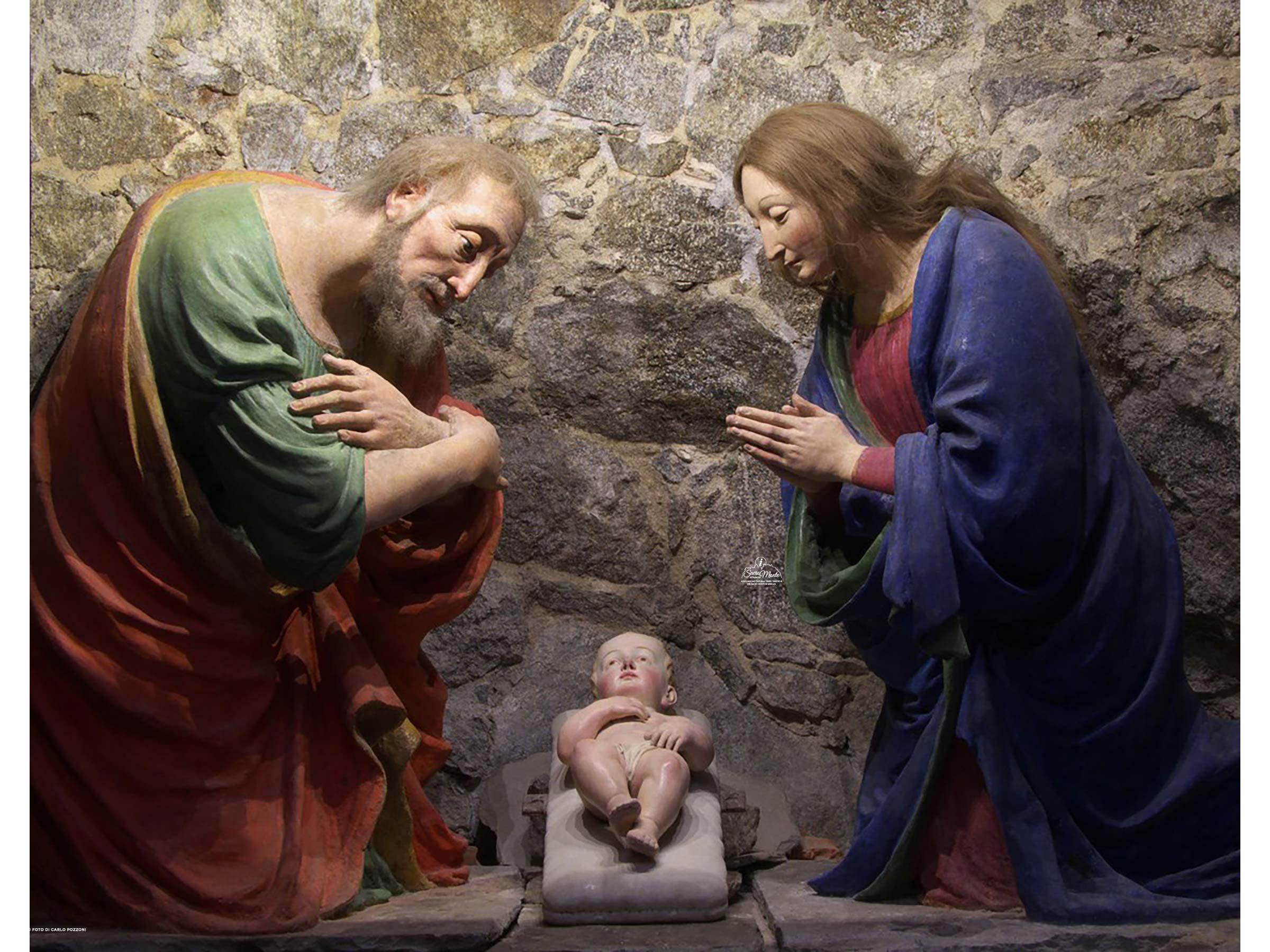 Sacro Monte di Varallo cappella natività