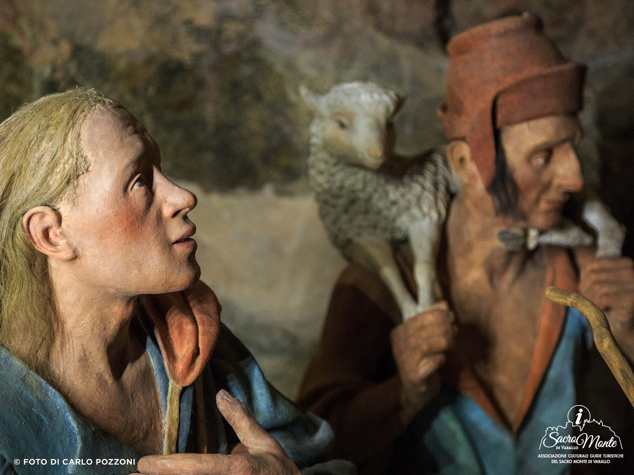 Sacro Monte di Varallo cappella adorazione dei pastori