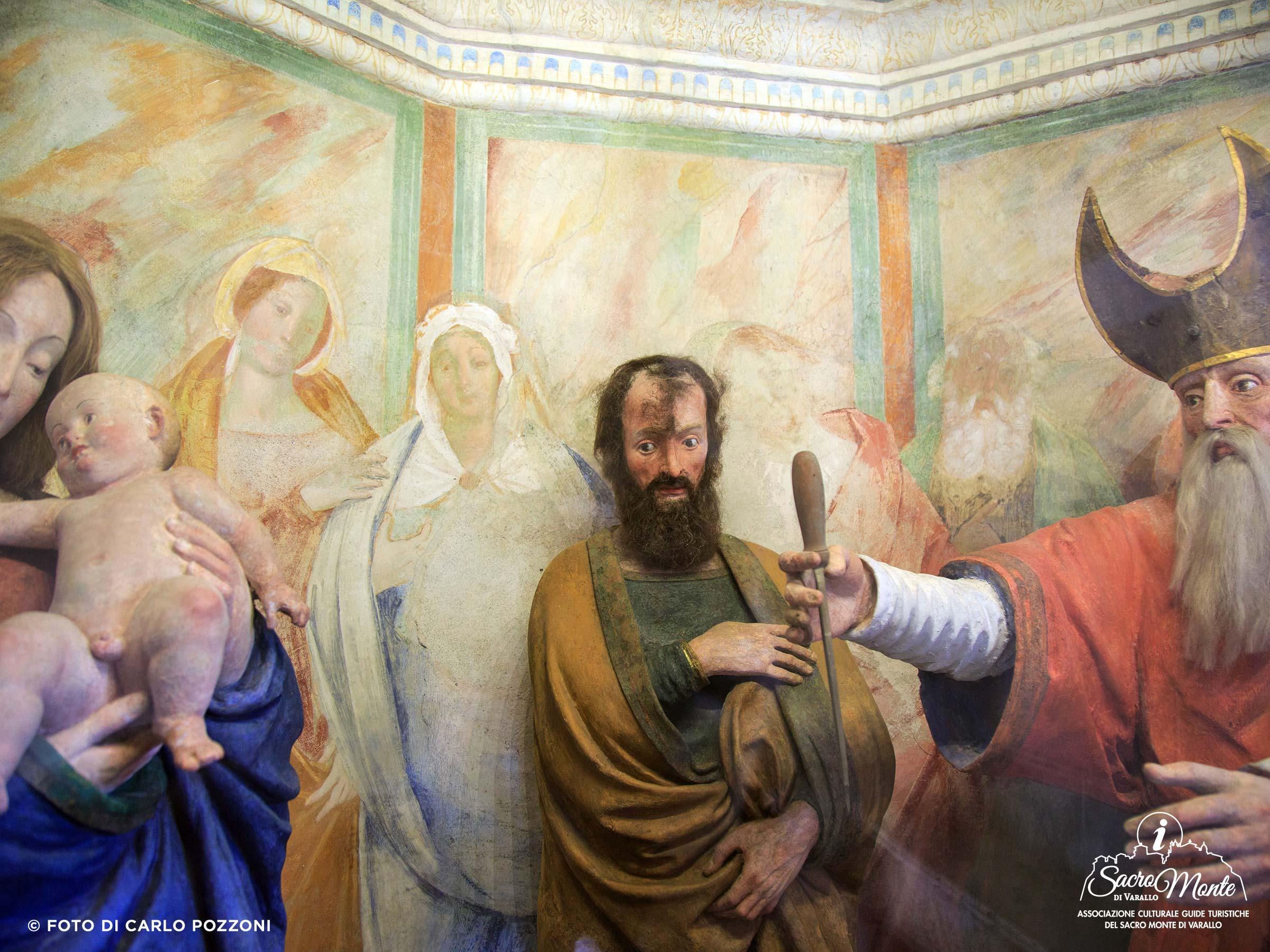 Sacro Monte di Varallo cappella circoncisione