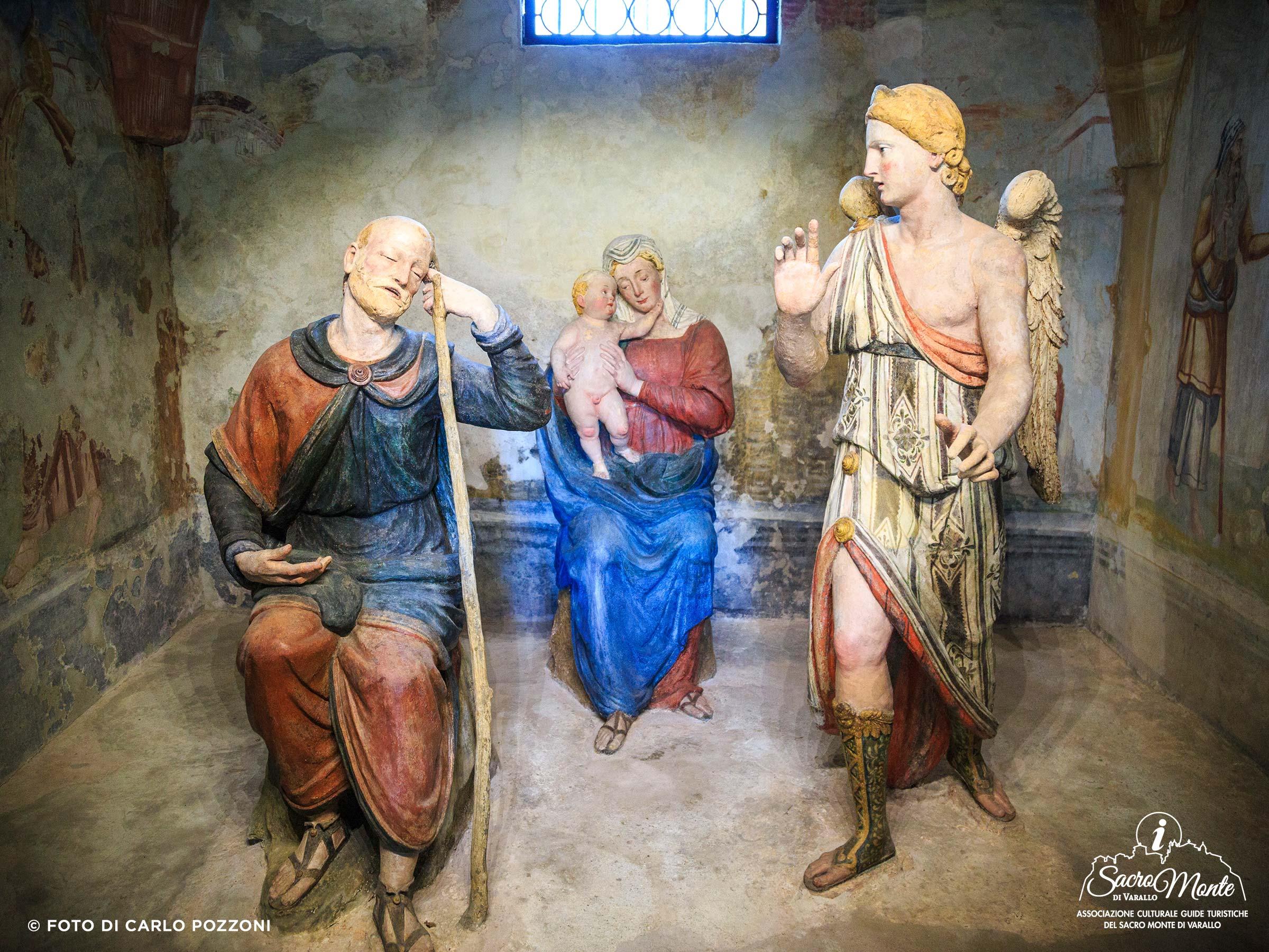Sacro Monte di Varallo cappella secondo sogno di giuseppe