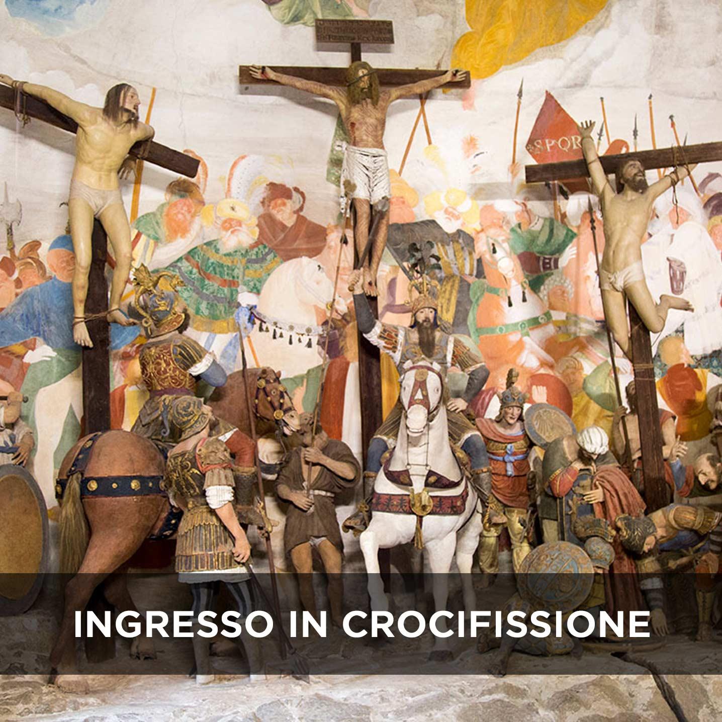 Sacro Monte di Varallo Crocifissione