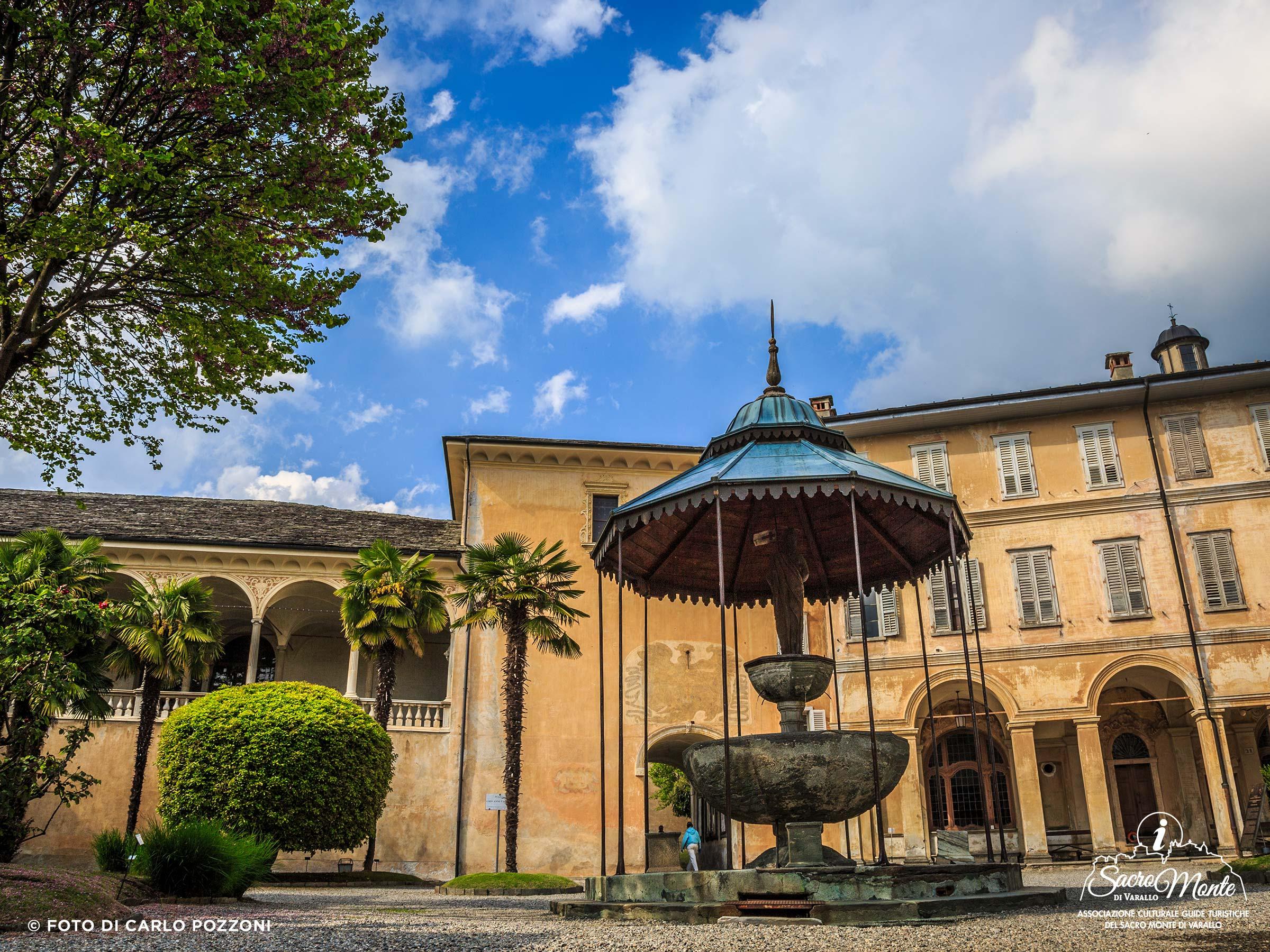 Sacro Monte di Varallo fontana