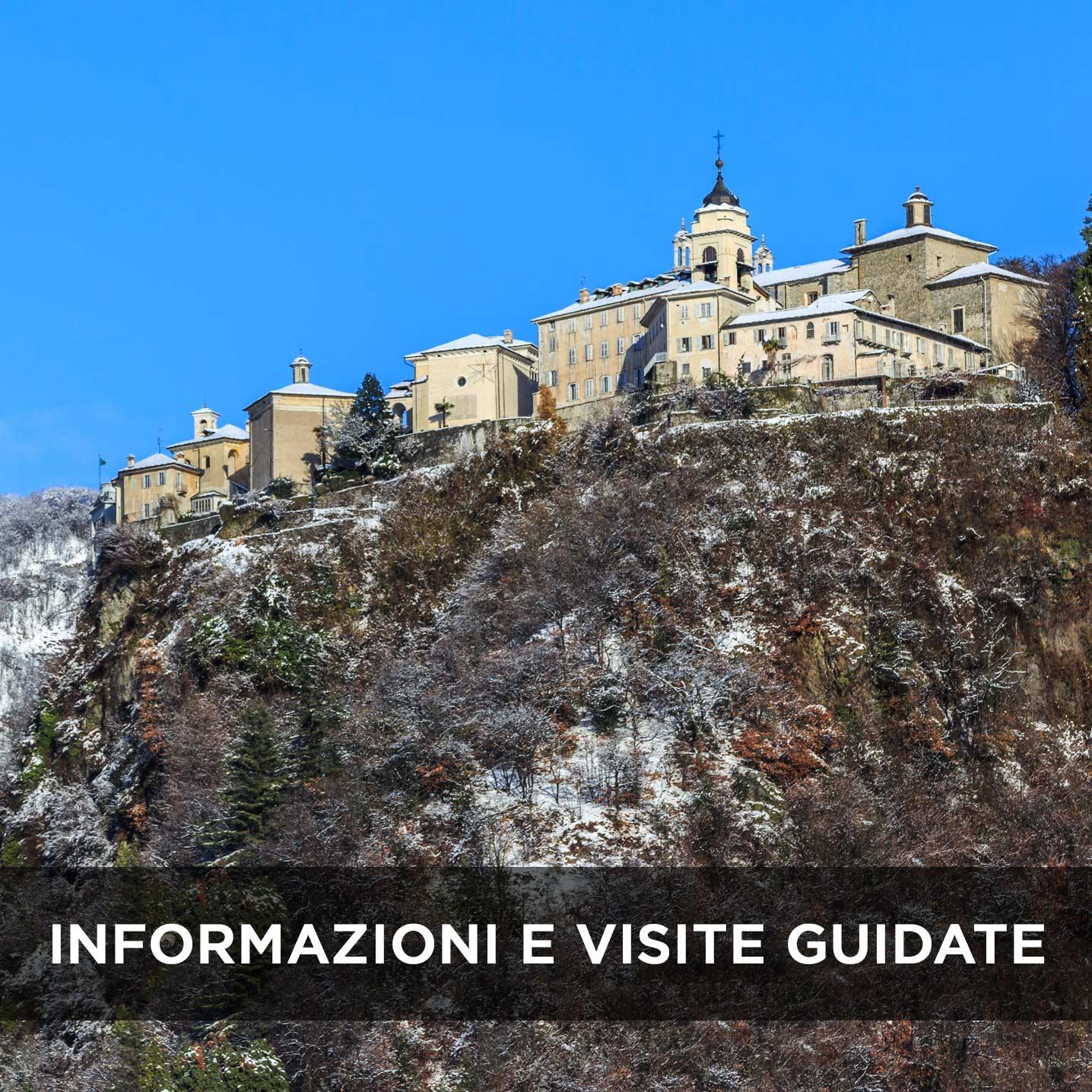 Sacro Monte di Varallo informazioni e visite guidate