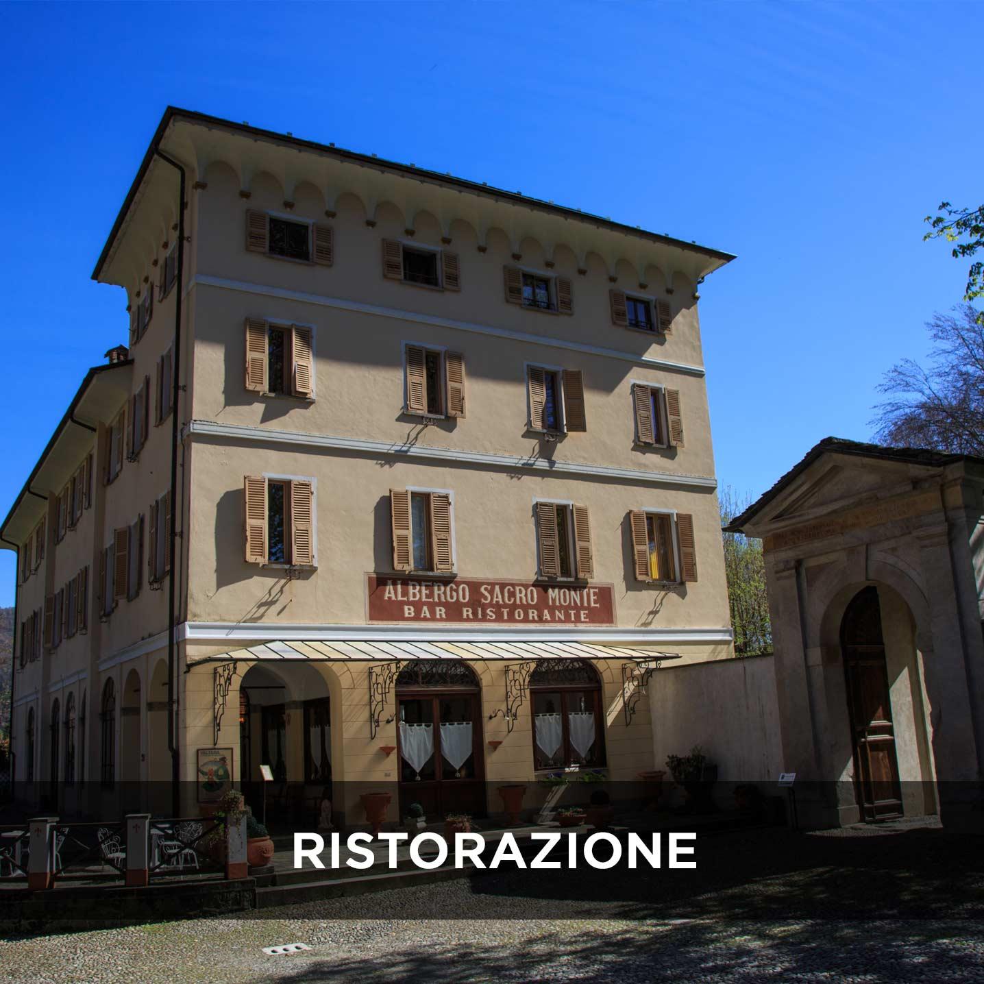 Sacro Monte di Varallo, Ristoranti