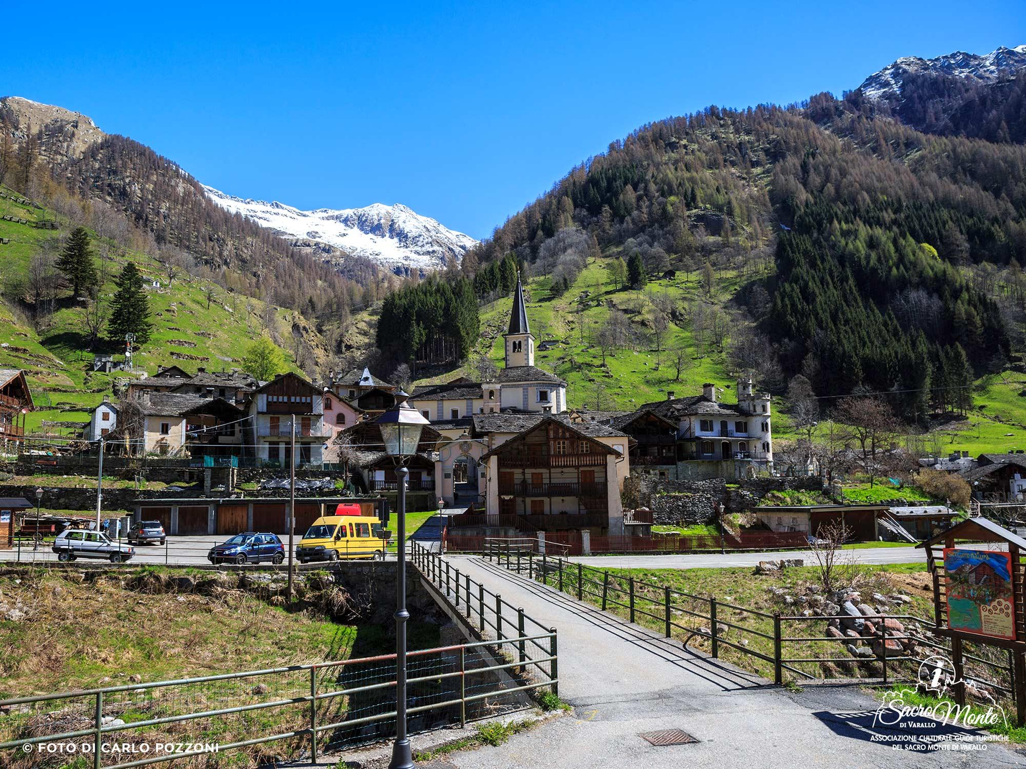 Sacro Monte di Varallo tour Carcoforo
