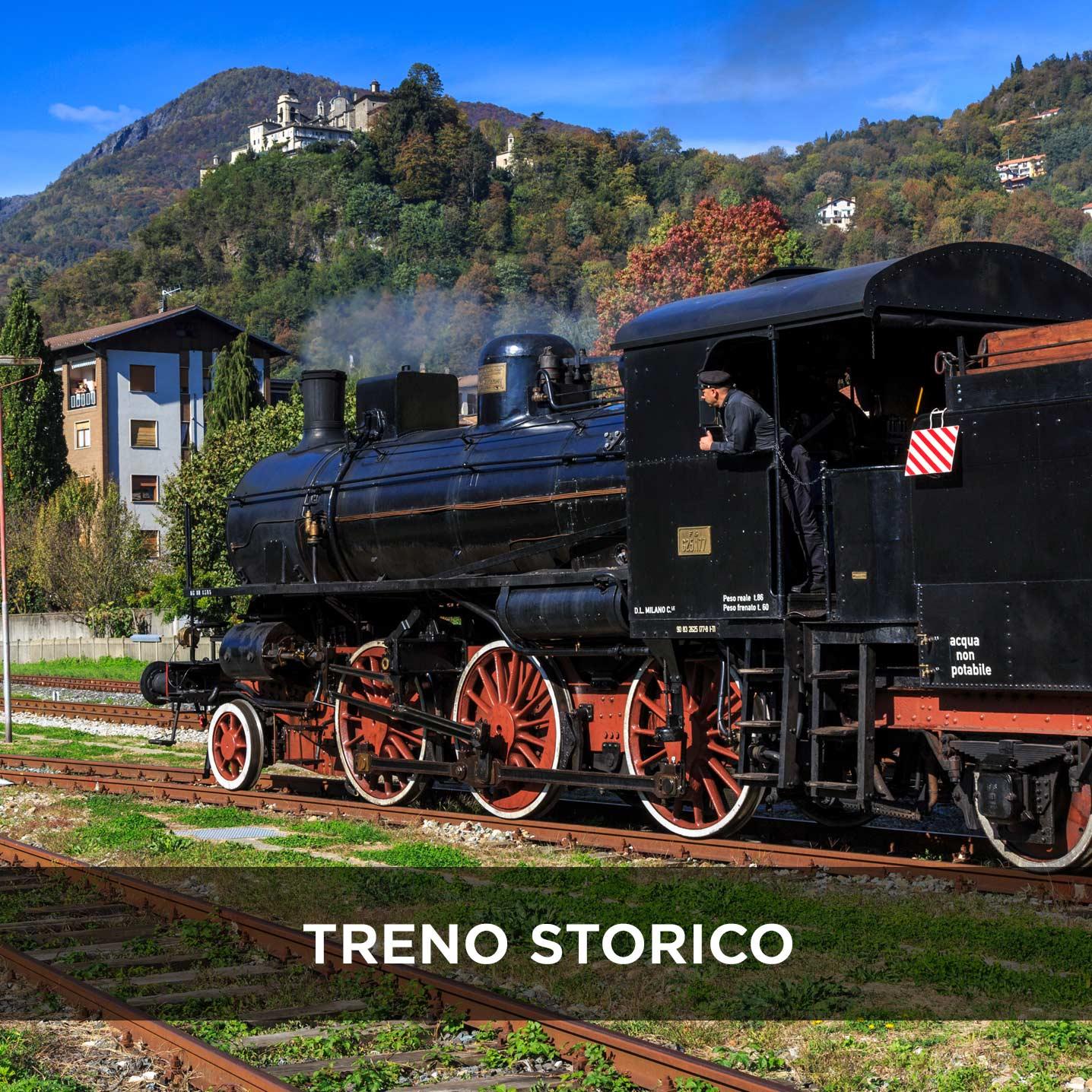 Sacro Monte di Varallo, Treno Storico